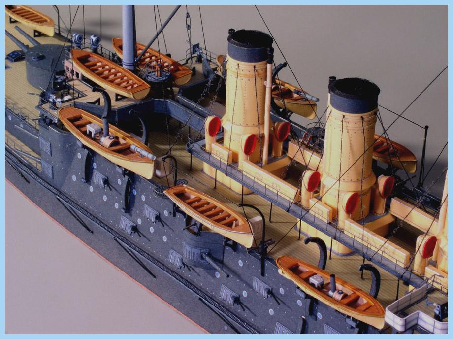 Battleship Oslabya | Premium Paper Models | Digitalnavy com