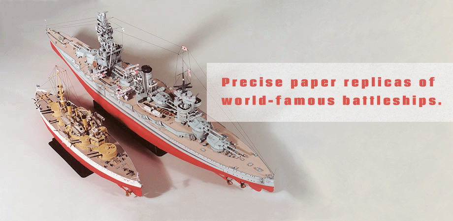 Precise, accurate paper models from Digitalnavy.